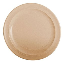 Thunder Group NS110T Nustone Tan Melamine Dinner Plate 10-1/4""