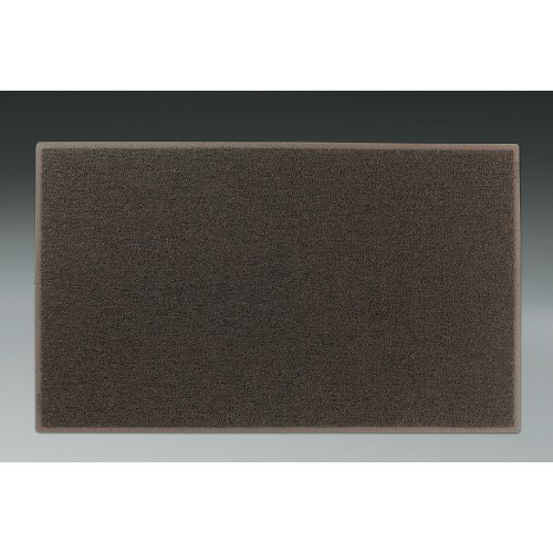 Dirt Stop Outdoor Scraper Mat, 48 X 72, Chestnut