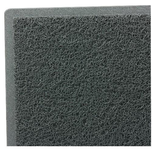 Dirt Stop Outdoor Scraper Mat, 48 X 72, Slate
