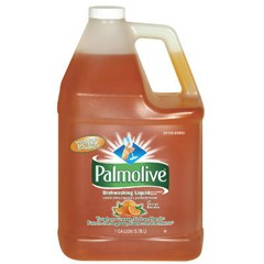 Dishwashing Liquid & Hand Soap, Orange Scent, 1 gal. Bottle