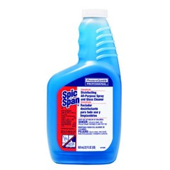 Disinfecting All-Purpose Spray & Glass Cleaner, Concentrate Liquid, 22oz. Bottle