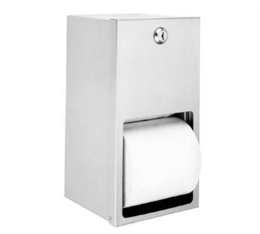 Dispenser, Tissue (2 Roll, S/S )