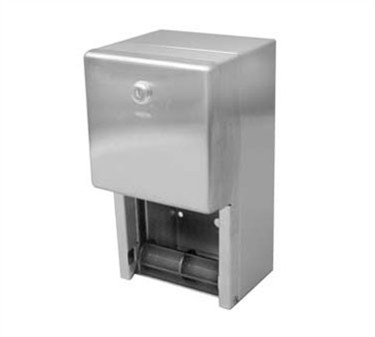 Franklin Machine Products  141-2021 Dispenser, Tissue (2 Roll, Stainless Steel )