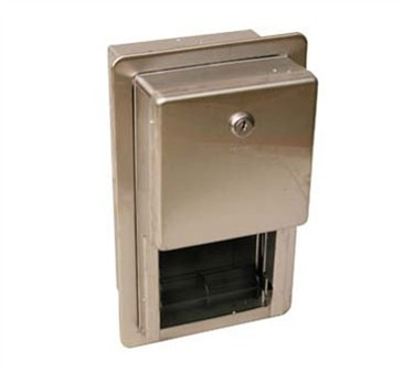 Franklin Machine Products  141-2022 Dispenser, Tissue (Recessed, Stainless Steel )