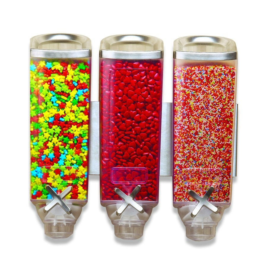 Rosseto EZP2906 EZ-PRO™ Triple-Container Wall Mounted Dispenser (1 Gallon Each)
