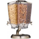 Rosseto EZP2753 EZ-PRO™ Four-Container Carousel Table Top Dispenser With Stainless Steel Stand (1 Gallon Each)