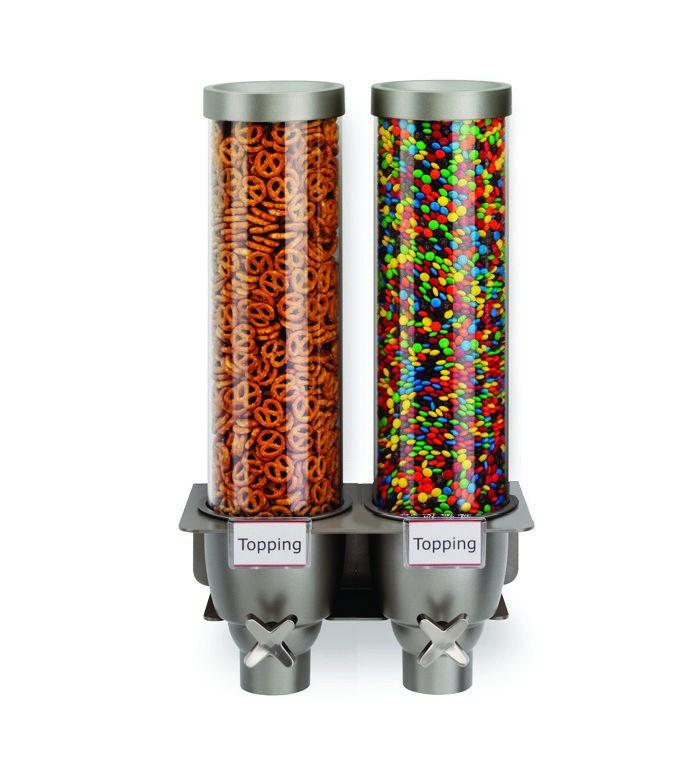 Rosseto EZ524 EZ-SERV Double-Container Wall Mounted Dispenser (1.3 Gallons Each)