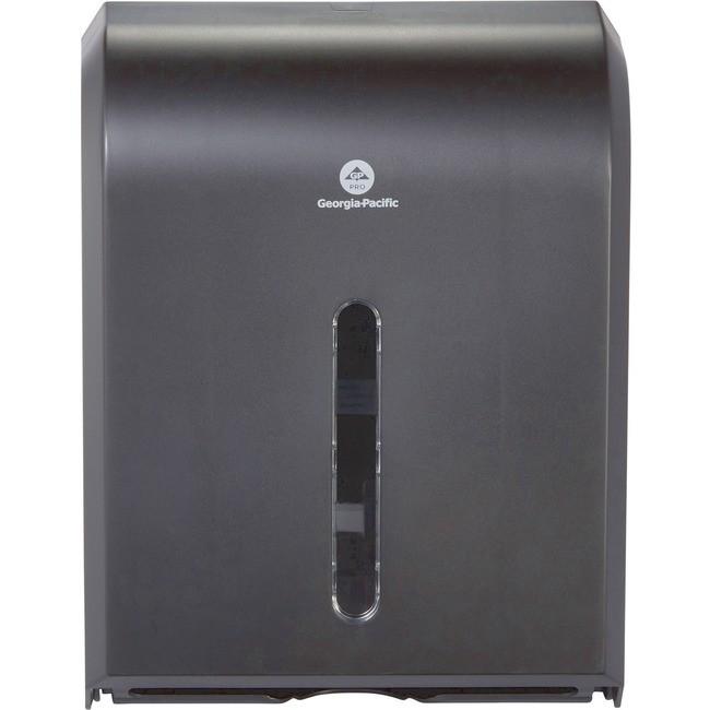 Dispenser For Combi-Fold C-Fold/Multifold/Bigfold Towels, Black