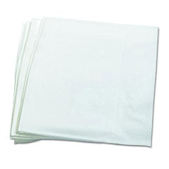 Dispenser Napkins, 1-Ply, 12 x 13, White