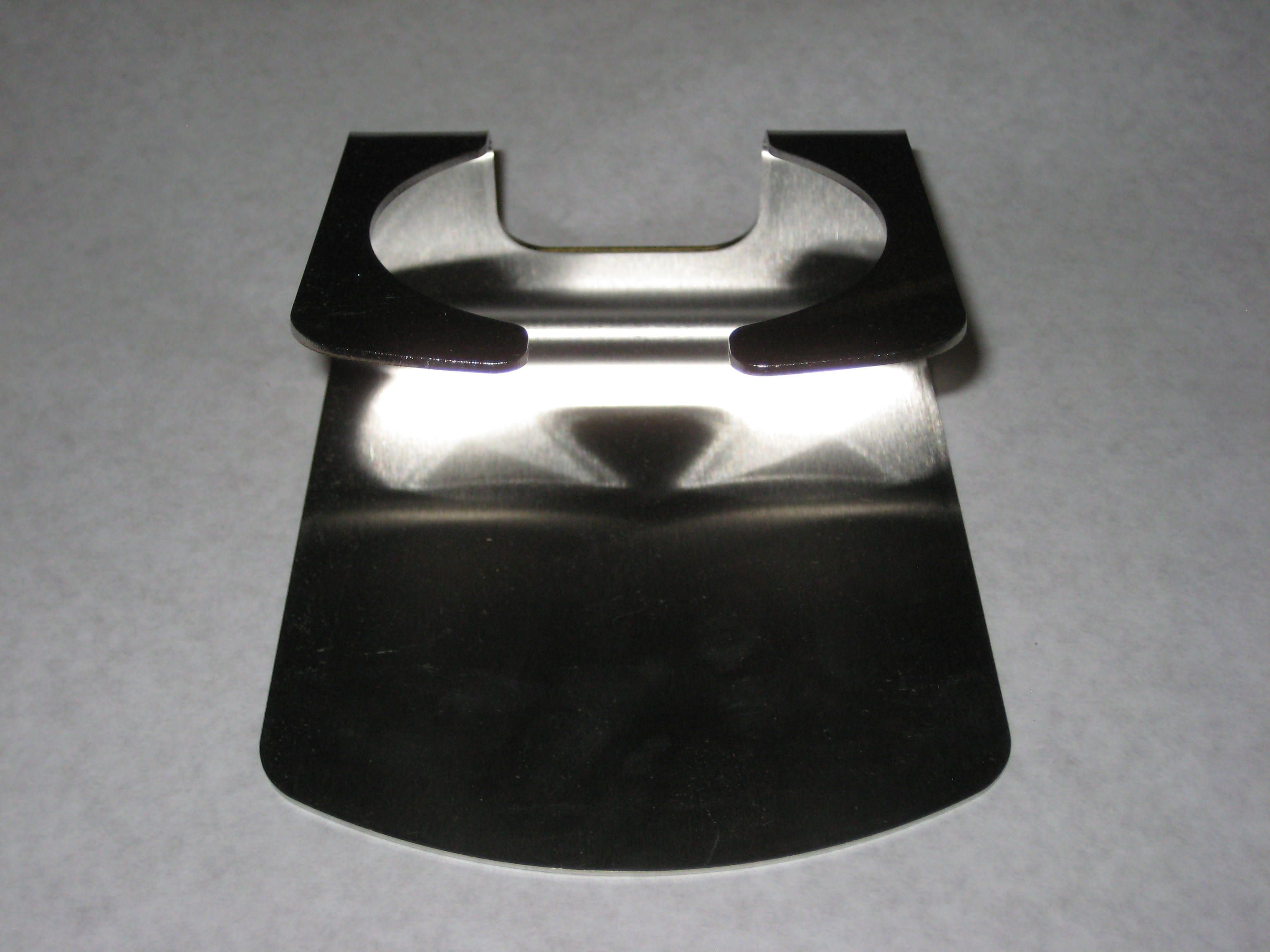 Dispenser Re-Filling Stand Stainless Steel Brushed Finish 5.25