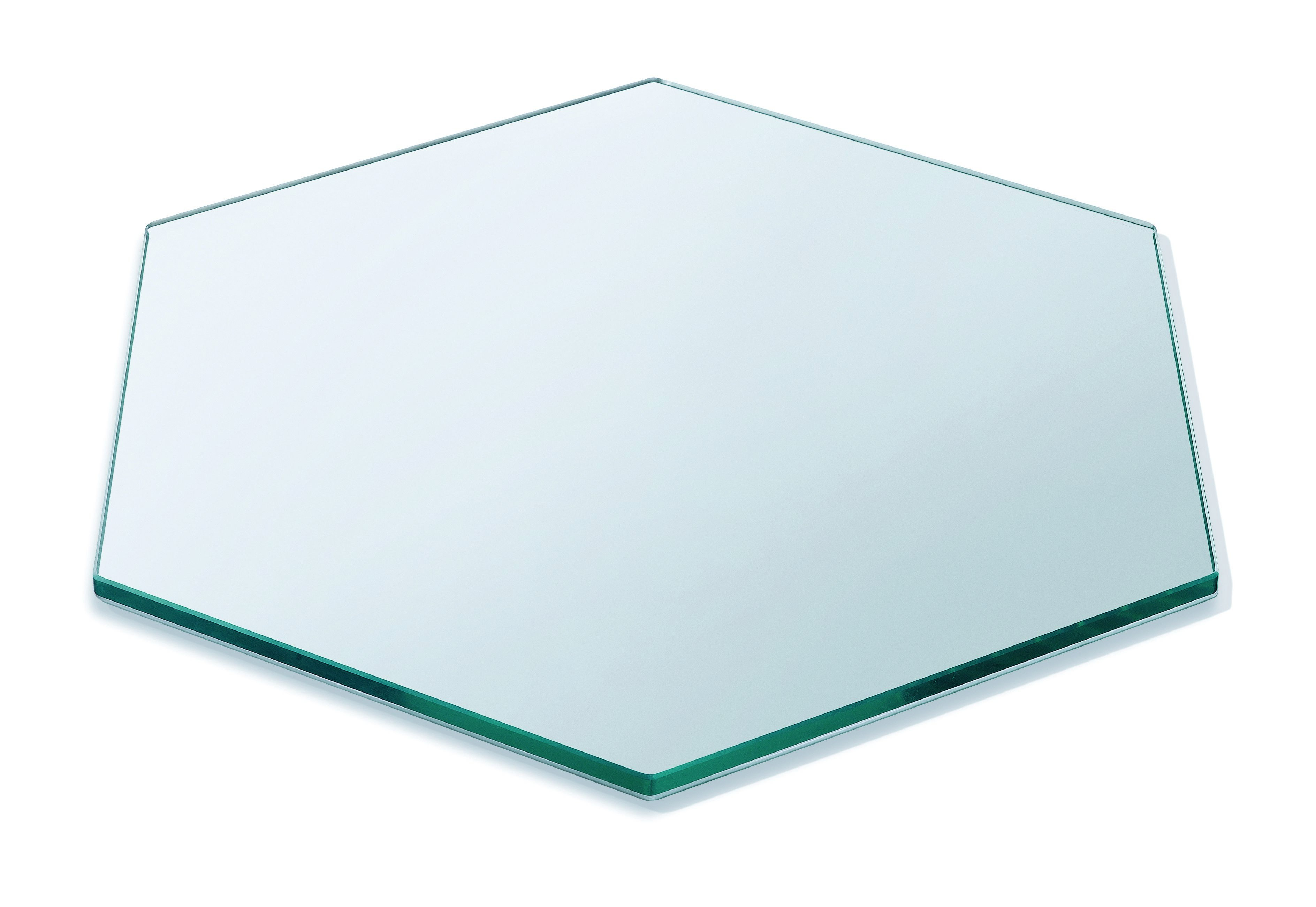 """Rosseto SG008 Honeycomb™ 16"""" Medium Clear Tempered Glass Surface"""