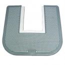 Dispoasable Washroom Floor Mat for Toliets, Green Apple Scent, Gray