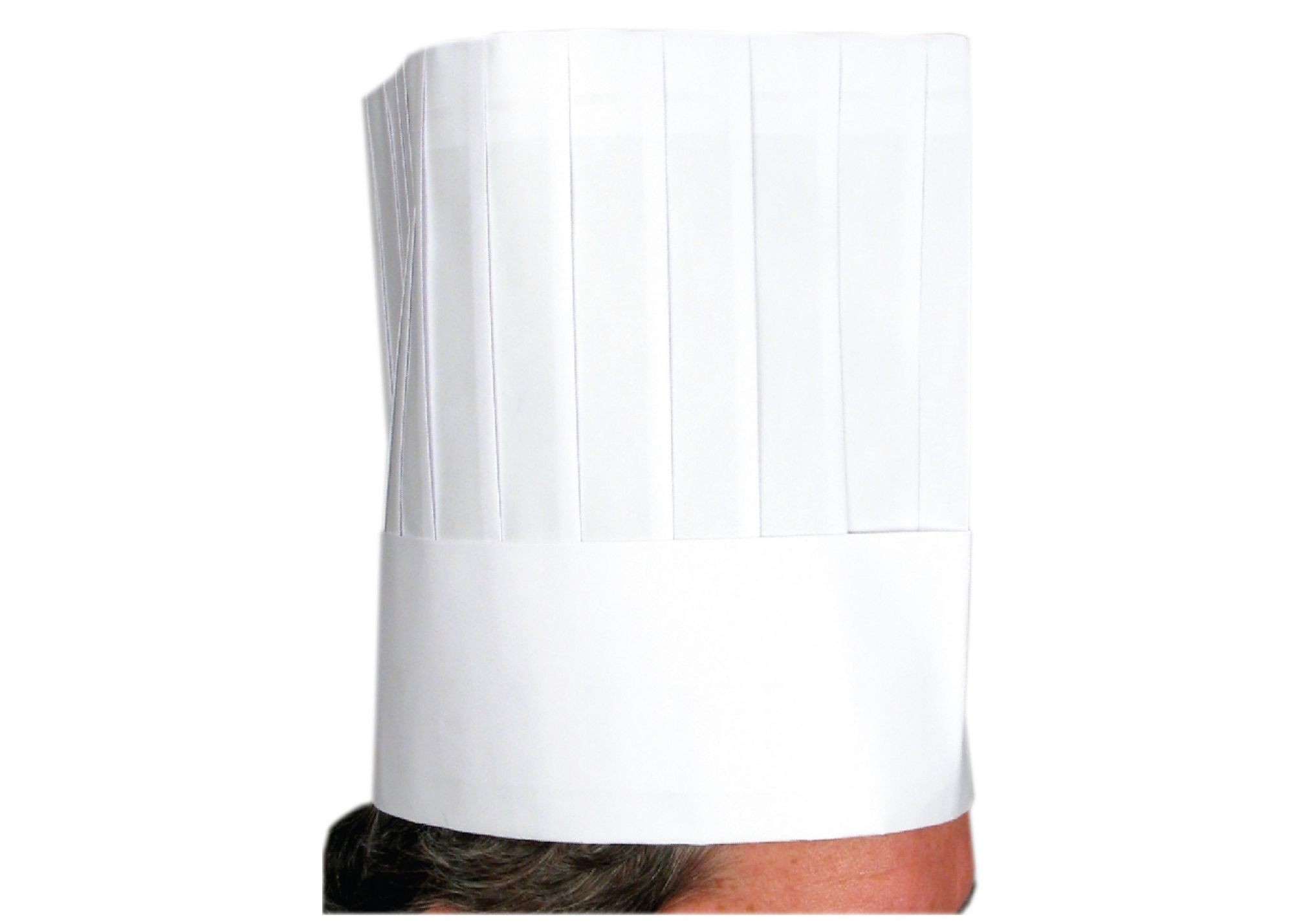 Disposable 9 Paper Chefs Hat (10 Pcs/Bag)