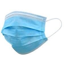 Disposable Protective Face Masks 50/Pk