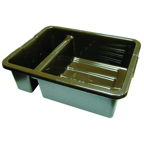 Divided Bus Box, 17 X 22 X 7, Brown