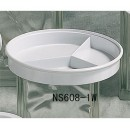 Divided Server - Classic White Melamine (8.25