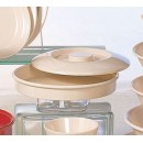 Divided Server Lid - Classic Tan Melamine (8.25