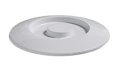 Thunder Group NS608CW Nustone White Melamine Divided Server Lid 8-1/4""