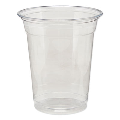 Dixie Clear Plastic PETE Cold Cups 12 oz., 500/Carton