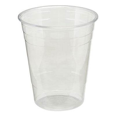 Dixie Clear Plastic PETE Cups, Cold, 16 oz., 1000/Carton