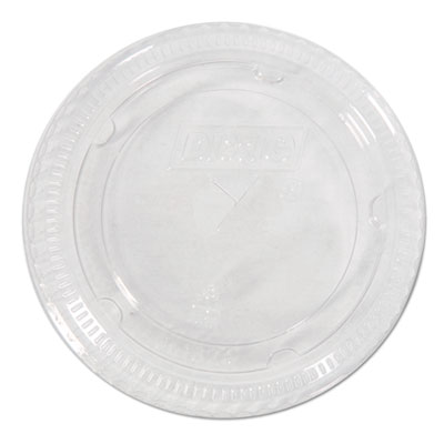 Dixie Cold Drink Clear Cup Lids for 16-24- oz. Cups, 1000/Carton