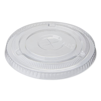 Dixie Cold Drink Clear Cup Lids for 16 oz. Cups, , 1000/Carton