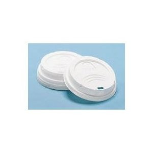 Dixie Foodservice 20 Oz Dome Lid- White (fits 20 Oz Cups) (Box of 1000)