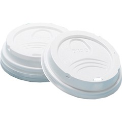 Dixie Foodservice DIXIE Dome Lid For 8 Oz Hot Cup (Box of 1000)