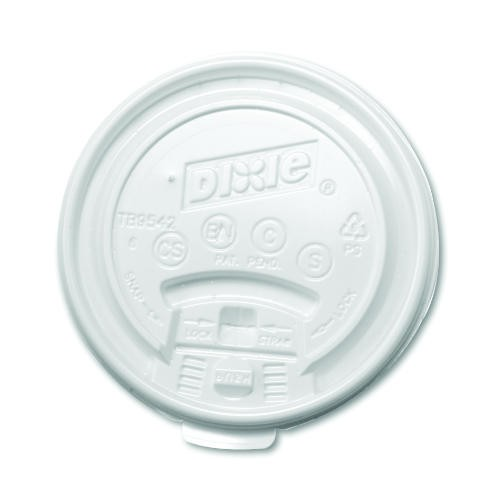 Dixie Foodservice DIXIE Lid Tear Back (for 8 Oz Hot Cups) (Box of 1000)