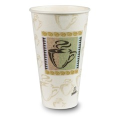Dixie Foodservice PerfecTouch Hot Cups, 20 oz., Coffee Dreams Design, 25/Bag (Box of 500)