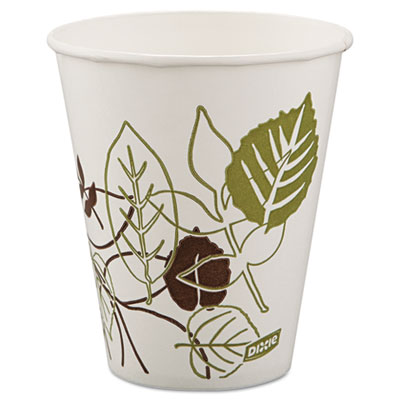 Dixie Pathways Polycoated Paper Cold Cups, 12 oz., 100/Pack