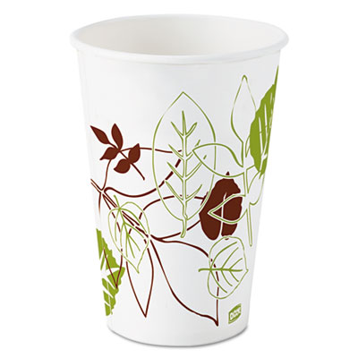 Dixie Pathways Polycoated Paper Cold Cups, 12 oz., 1200/Carton