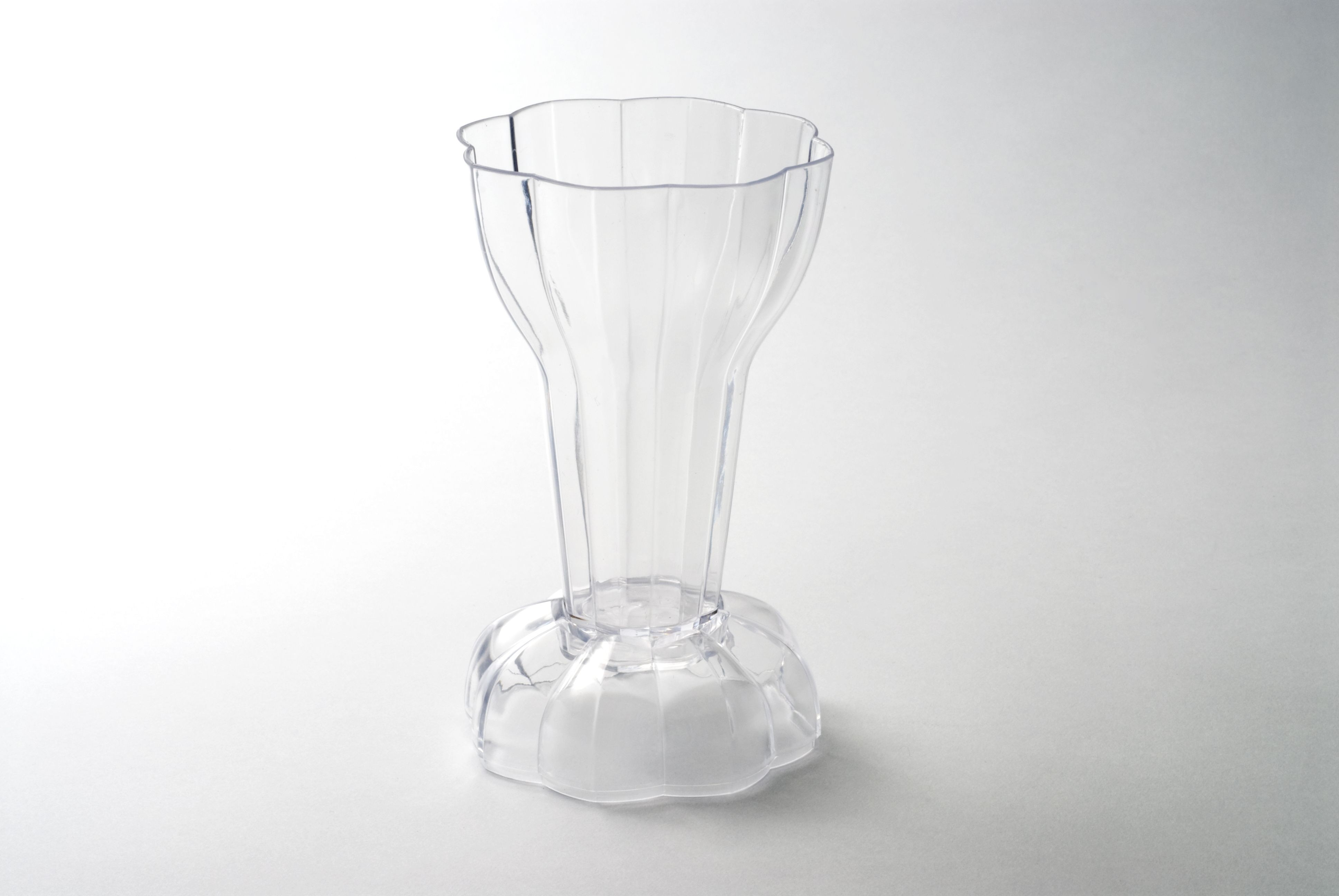 Rosseto L12400 Liteware Clear Plastic Dolce Cup with Lid 6 oz. (Case Of 120)
