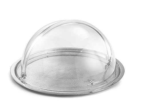 "TableCraft PC2 Round Polycarbonate Dome Cover, 19"" x 10"