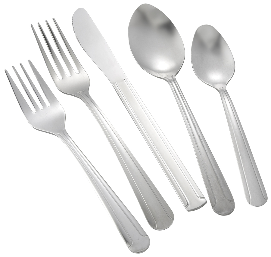 Dominion Medium Weight 5-Piece Place Setting for 12 (60/Pack)
