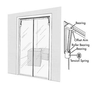 Franklin Machine Products  124-1280 Clear Vu  Swinging Door