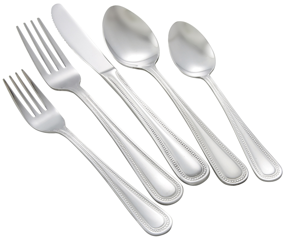 Dots Heavy Weight 5-Piece Place Setting for 12 (60/Pack)
