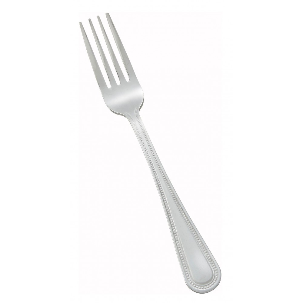 Dots Heavy Weight Mirror Finish Stainless Steel Dinner Fork (12/Pack)