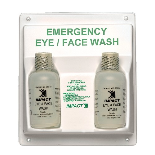 Double Eye/Face Wash Station, 11 X 4 X 13