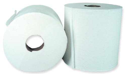 Double Ply Perforated Center Pull Hand Paper Towel Roll