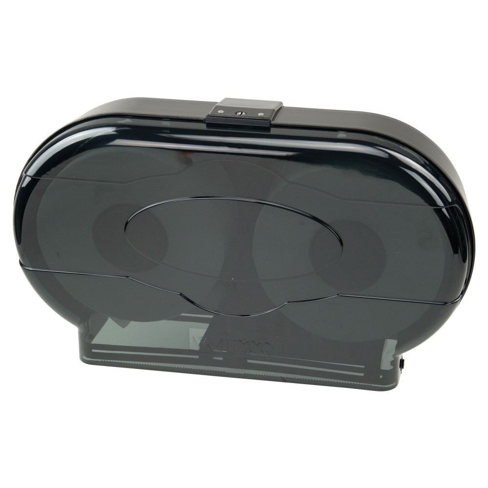 Winco TD-220 Double Roll Toilet Paper Dispenser
