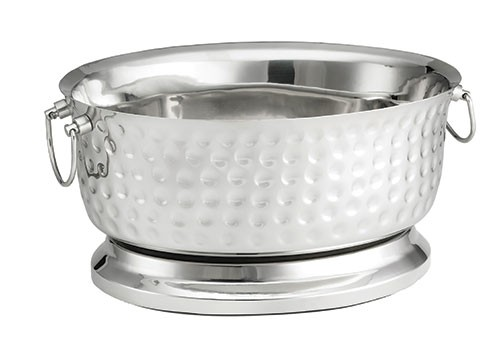 Bali Oval Double Wall Stainless Steel Beverage Tub