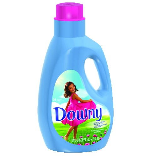 Downy Fabric Softener Bottle, April Fresh, 64 Oz
