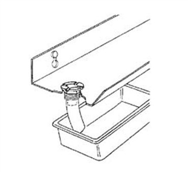 Franklin Machine Products  129-1000 Drain, Canopy Hood (Np Brass )