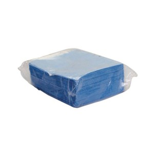 DuPont Sontara EC Engineered Cloths, Flat, 12 x 12, Blue, 100/Pack