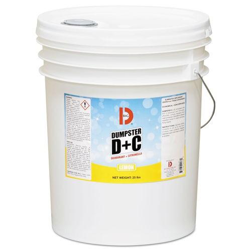 Dumpster D Plus C, Neutral, 25 lb, Bucket