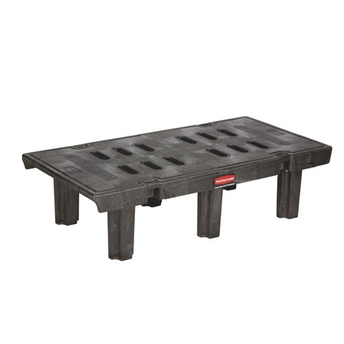 Dunnage Rack 24 X 36, 1500 lb Capacity, Black