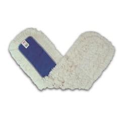 Dust Mop Heads, Kut-A-Way, White, 36 x 5, Cut-End, Cotton