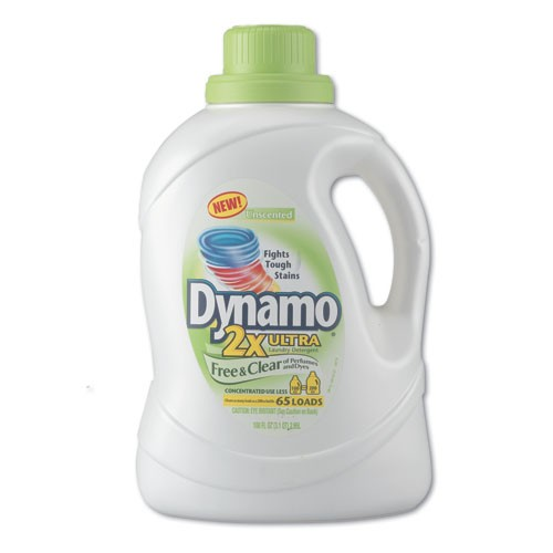 Dynamo Liquid Detergent, Free & Clear
