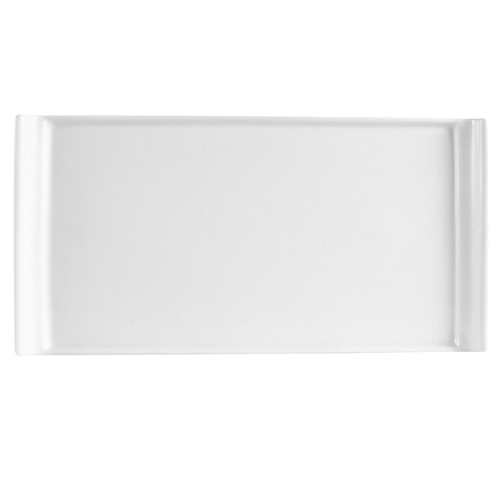 "CAC China DYN-14 Dynasty Rectangular Platter, 13"" x 6 1/2"